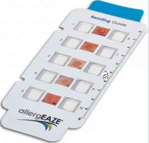 allergEAZE方系列专用判读卡-Finnchambers系列产品